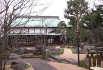 香福寺客殿と寺庭