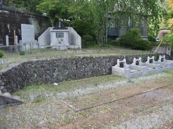 妙誠寺 墓地