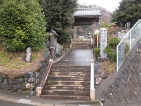 浄光寺 参道