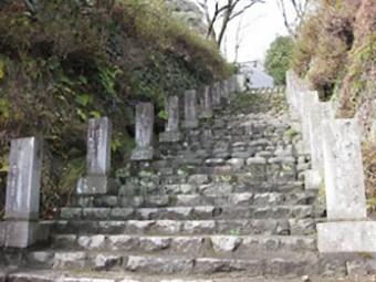 正覚寺 参道
